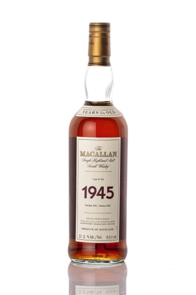 View 2. Thumbnail of Lot 5523. The Macallan Fine & Rare 56 Year Old 51.5 abv 1945 (1 BT75).