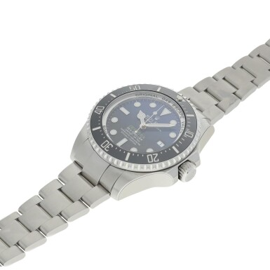 View 6. Thumbnail of Lot 96. REFERENCE 116660 DEEP-SEA A STAINLESS STEEL WRISTWATCH WITH DATE AND BRACELET, MADE TO COMMEMORATE JAMES CAMERON'S DEEPSEA CHALLENGE, CIRCA 2017.