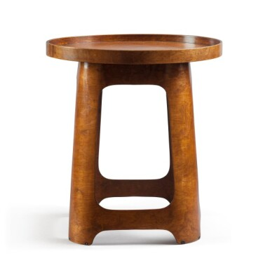 View 2. Thumbnail of Lot 87. Isokon, London, est. 1931   Stool/Table with Tray.
