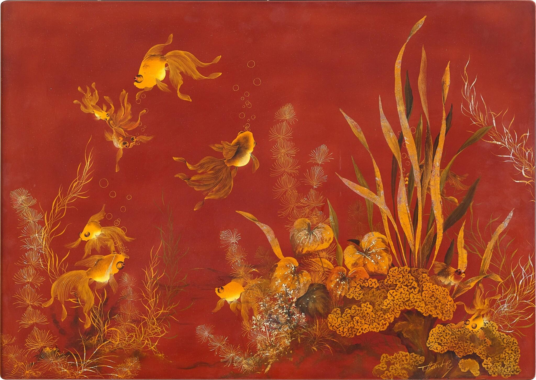 View full screen - View 1 of Lot 4537. Goldfish of Abundance   金玉滿堂.