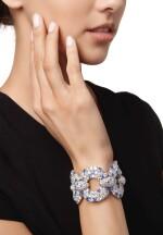 SAPPHIRE AND DIAMOND BRACELET | 藍寶石配鑽石手鏈
