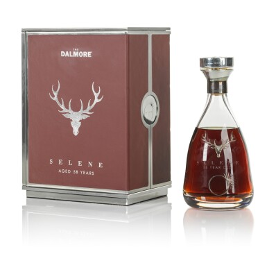 View 5. Thumbnail of Lot 1. The Dalmore 58 Year Old Selene 44.0 abv 1951     .