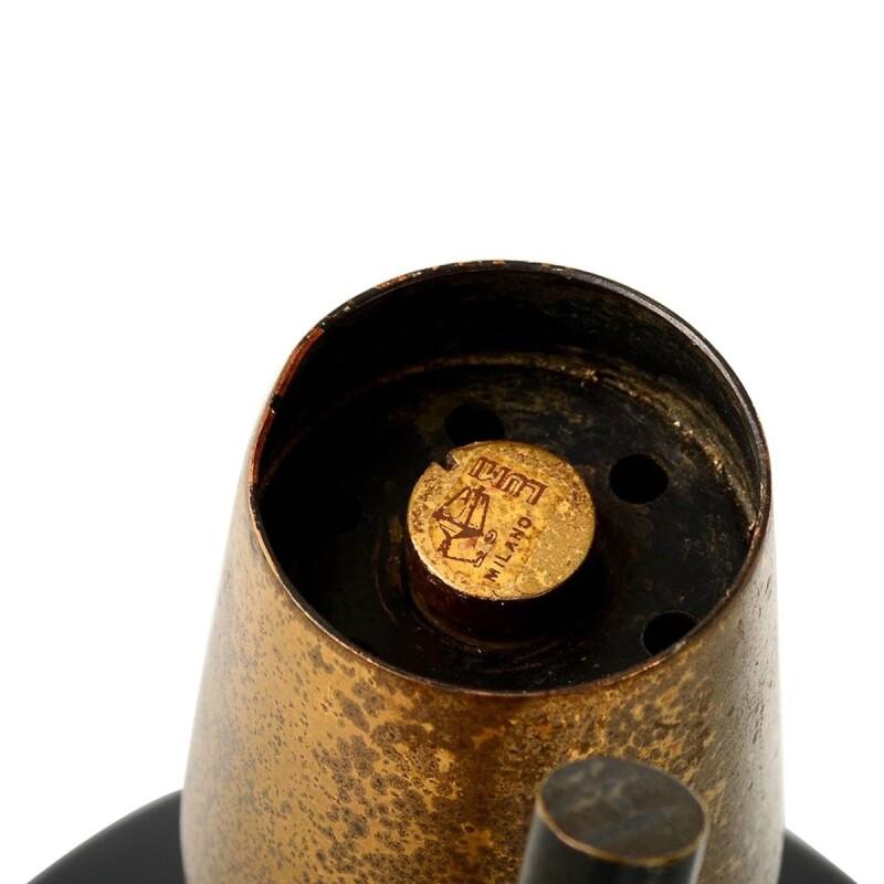 Patinated Brass Desk Lamp