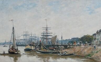 View 1. Thumbnail of Lot 32. Bordeaux, le port et les quais.