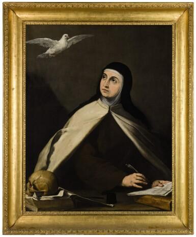 View 2. Thumbnail of Lot 17. Saint Teresa of Avila (1515–1582) |《亞維拉聖德蘭(1515-1582年)》.