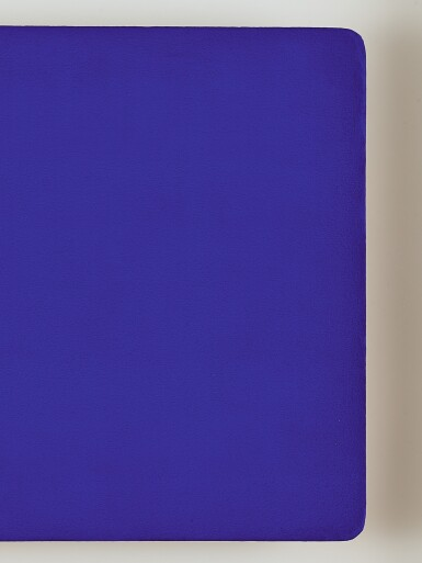 View 3. Thumbnail of Lot 33.  YVES KLEIN   UNTITLED BLUE MONOCHROME (IKB 108).