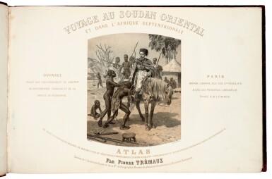 View 4. Thumbnail of Lot 159. Pierre Tremaux   Voyage au Soudan, atlas volume, c. 1857.