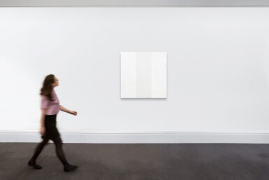 View 3. Thumbnail of Lot 527. Mary Corse 瑪麗·闊思   Untitled (White Inner Band Beveled) 無題(白色內帶斜面).
