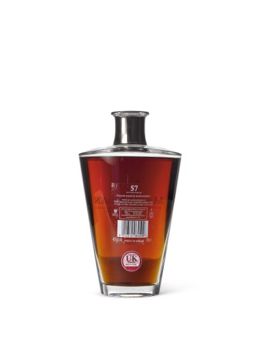 View 4. Thumbnail of Lot 2003. The Macallan In Lalique - Finest Cut Decanter, 57 Years Old.