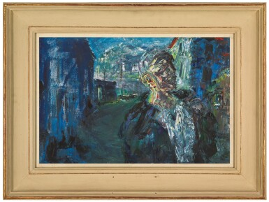 View 2. Thumbnail of Lot 34. JACK BUTLER YEATS, R.H.A.   THE STEVEDORE .