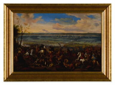 View 4. Thumbnail of Lot 636. Battle of Torino, and another battle scene.