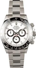 ROLEX | Daytona, Ref 116500LN A Stainless Steel Chronograph Wristwatch with Bracelet Circa 2017