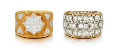 TWO RINGS, MARIO BUCCELLATI |戒指兩枚, 馬里奧 布切拉蒂(Mario Buccellati)