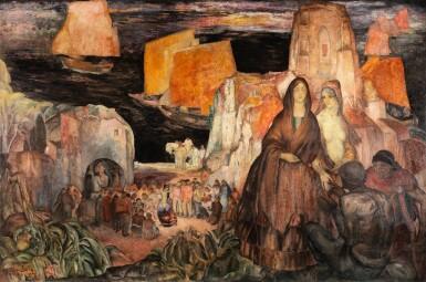 View 1. Thumbnail of Lot 239. Le pèlerinage aux Saintes-Maries-de-la-mer .