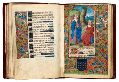 View 4. Thumbnail of Lot 34. Book of Hours, Use of Reims, illuminated manuscript on vellum [France, late 15th century].