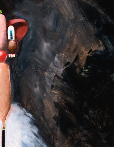 View 2. Thumbnail of Lot 29. GEORGE CONDO   THE BUTCHER'S WIFE.