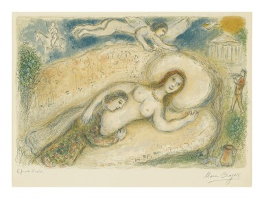 MARC CHAGALL | CIRCE (M. 780; SEE C. BOOKS 96)