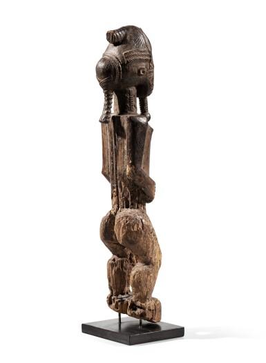 View 4. Thumbnail of Lot 206. Statue, Baulé, Côte d'Ivoire | Baule figure, Côte d'Ivoire.