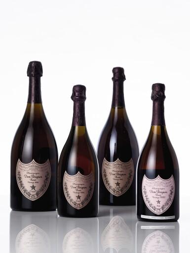 View 1. Thumbnail of Lot 6466. Dom Pérignon, Rosé 2000 (3 BT).