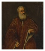 ATTRIBUTED TO JACOPO ROBUSTI, CALLED JACOPO TINTORETTO AND WORKSHOP   PORTRAIT OF A VENETIAN SENATOR