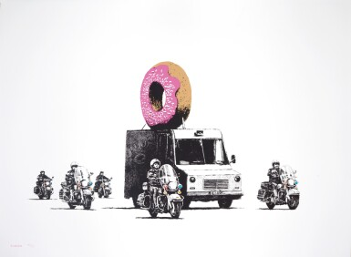 BANKSY | DONUTS STRAWBERRY