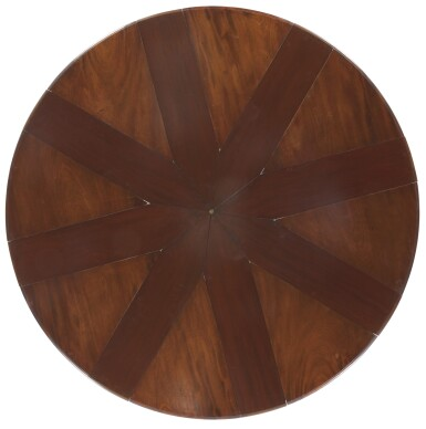 View 11. Thumbnail of Lot 24. AN EARLY VICTORIAN MAHOGANY EXPANDING DINING TABLE BY JOHNSTONE & JEANES, MID-19TH CENTURY.
