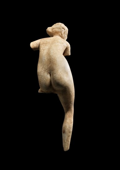 View 2. Thumbnail of Lot 26. A Hellenistic Marble Figure of Aphrodite, circa 2nd/1st century B.C..