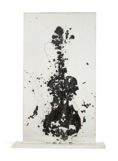 View 4. Thumbnail of Lot 180. Tortured Violin.