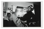 "MPOZI TOLBERT | Set of four prints: ""The Roots Jam Shot; Questlove record shopping; Lauryn Hill; Q-Tip, ca 1993-96."