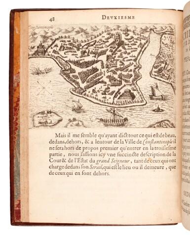 View 3. Thumbnail of Lot 158. Beauvau | Relation journaliere du voyage du Levant, 1615.