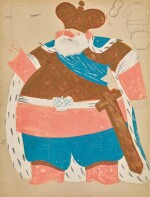 Costume Design for the Tsar in Le Coq d'Or
