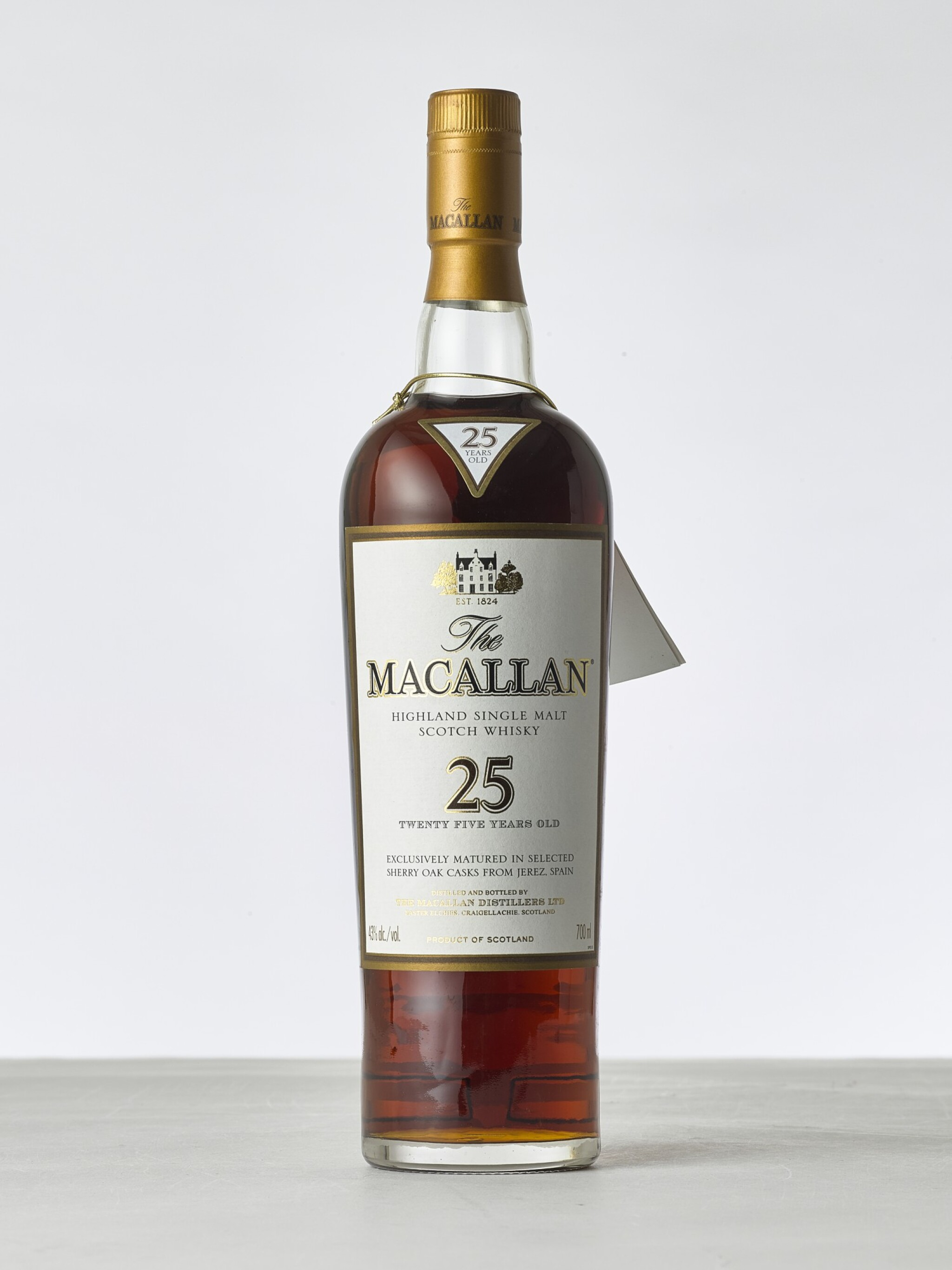 View 1 of Lot 2018. Macallan, 25 Year Old Sherry Cask NV (1 BT70).