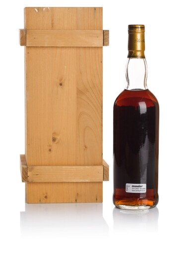 View 2. Thumbnail of Lot 44. THE MACALLAN 25 YEAR OLD ANNIVERSARY MALT 43.0 ABV 1967   .