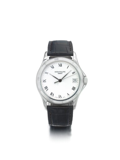 PATEK PHILIPPE | REF 5117G, A WHITE GOLD AUTOMATIC CENTER SECONDS WRISTWATCH WITH DATE MADE IN 2002