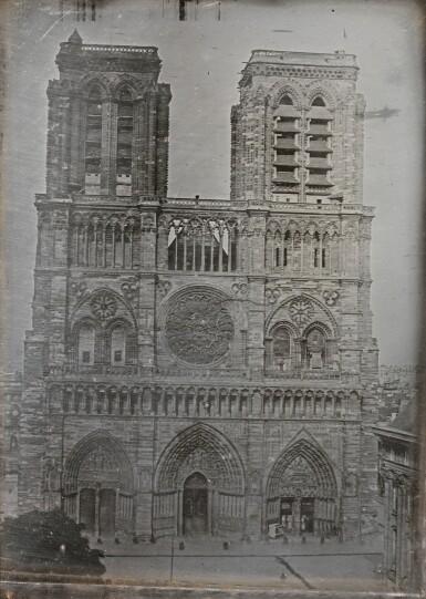 VINCENT CHEVALIER | CATHÉDRALE NOTRE-DAME DE PARIS, CIRCA 1840