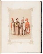 BRINDESI | Elbicei atika. Musée des anciens costumes Turcs de Constantinople. Paris, Lemercier, [1855]