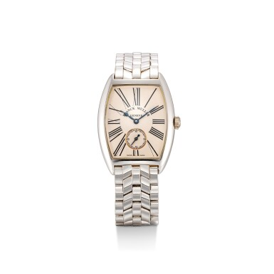 FRANCK MULLER | REFERENCE 7501 S6 MM, A WHITE GOLD WRISTWATCH WITH BRACELET, CIRCA 2000
