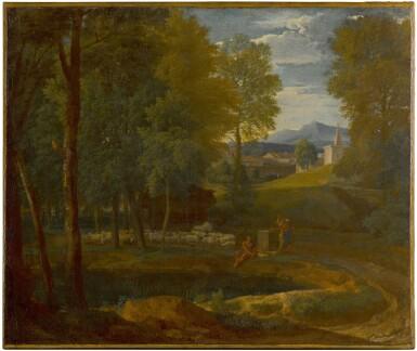 View 1. Thumbnail of Lot 167. A classical landscape.
