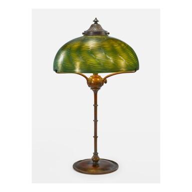 View 1. Thumbnail of Lot 2. TIFFANY STUDIOS | TABLE LAMP.