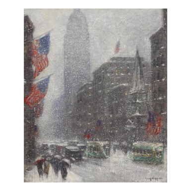 GUY CARLETON WIGGINS | FIFTH AVE AT 39TH STREET