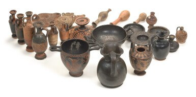 View 2. Thumbnail of Lot 2.  A GROUP OF GREEK POTTERY VESSELS, 5TH/3RD CENTURY B.C..