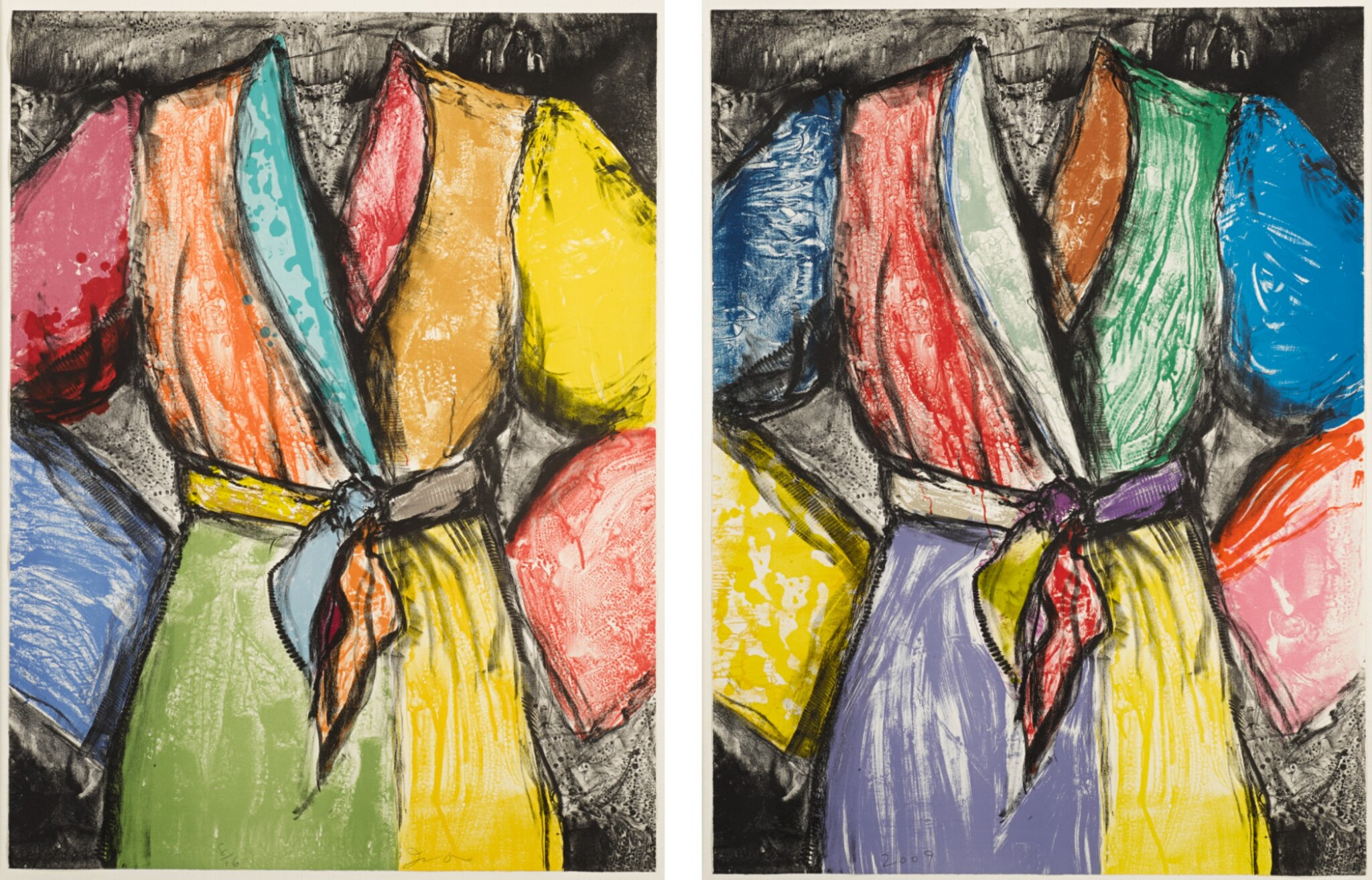 JIM DINE | DOUBLE DOSE OF COLOR