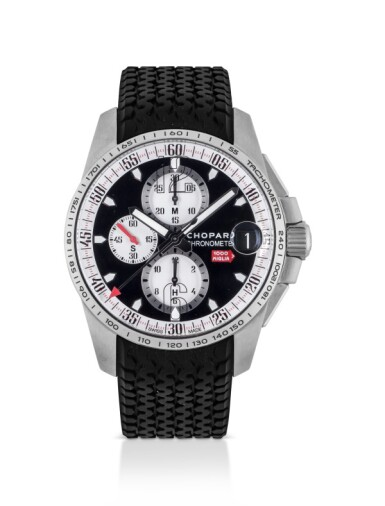 CHOPARD | MILLE MIGLIA GTXL, REF 8459 LIMITED EDITION STAINLESS STEEL CHRONOGRAPH WRISTWATCH WITH DATE CIRCA 2011