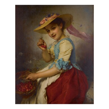 ETIENNE ADOLPHE PIOT | THE CHERRY GIRL