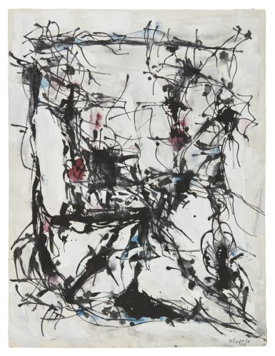 View 1. Thumbnail of Lot 6. JEAN-PAUL RIOPELLE | UNTITLED.