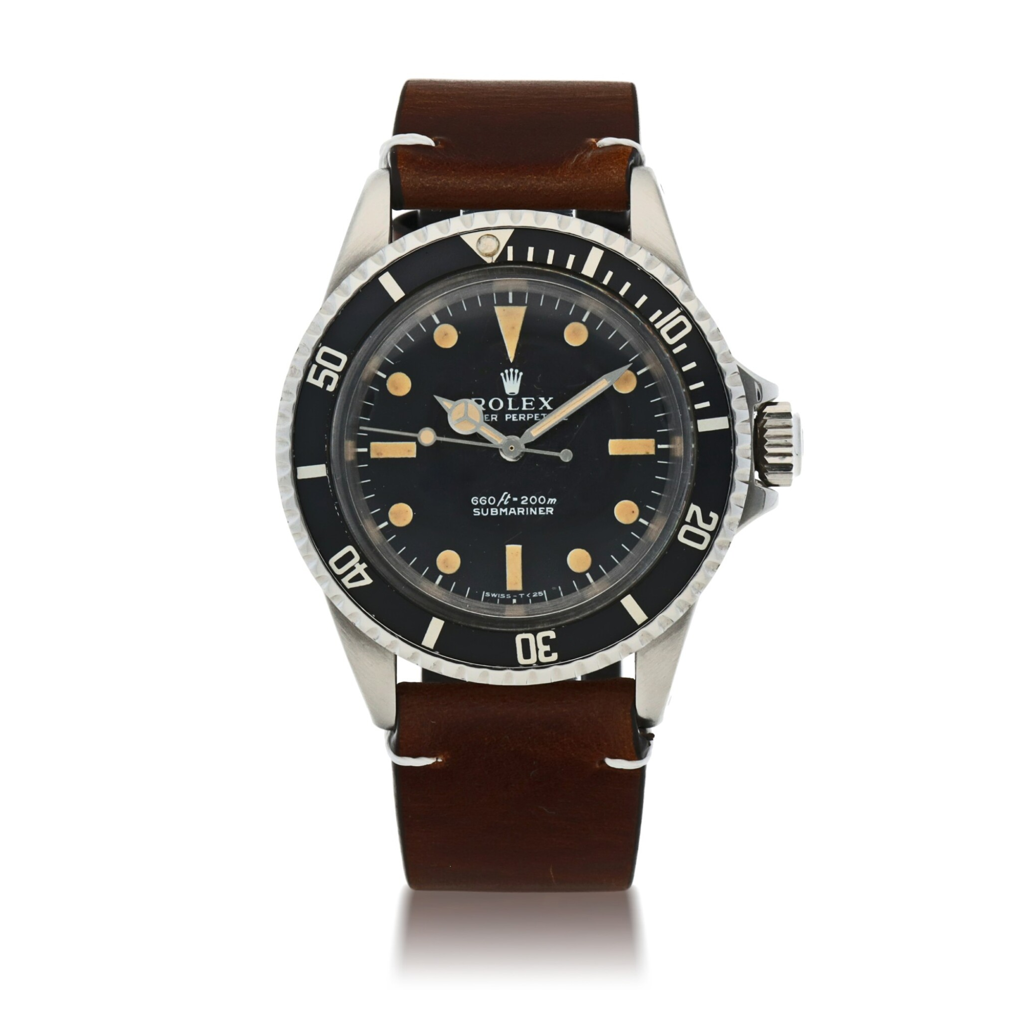 View full screen - View 1 of Lot 403. SUBMARINER, REF 5513 STAINLESS STEEL WRISTWATCH CIRCA 1966.