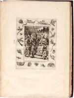 Galle, Septem opera misericordiae spiritualia, Antwerp, 1577, later English calf
