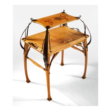 LÉON BÉNOUVILLE | TWO-TIER TEA TABLE