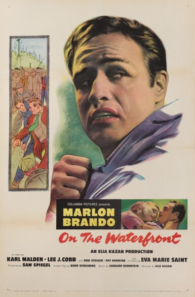 ON THE WATERFRONT (1954) POSTER, US
