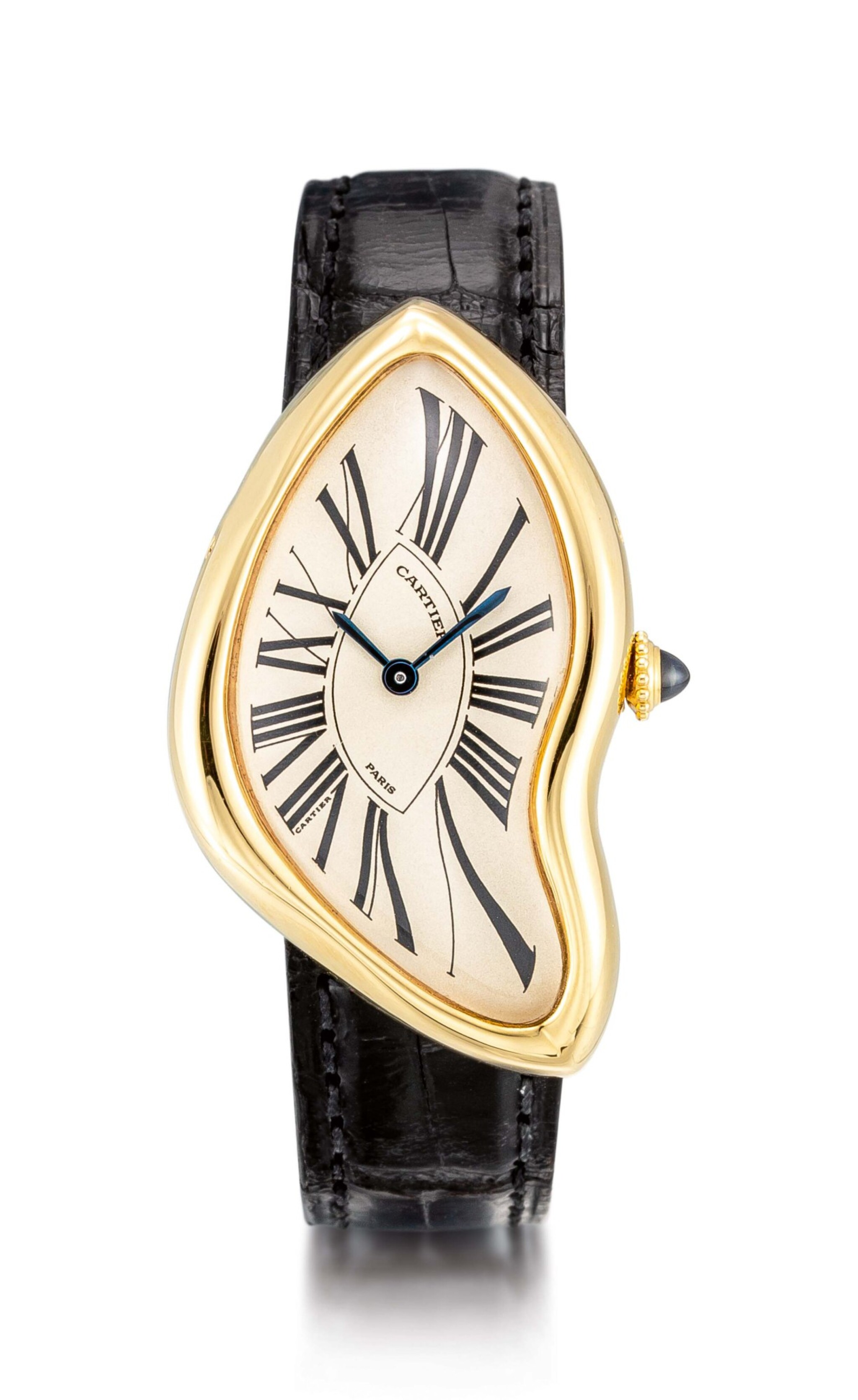 View full screen - View 1 of Lot 8002. Cartier   Crash, A yellow gold wristwatch, Circa 1991   卡地亞   Crash 黃金腕錶,約1991年製.